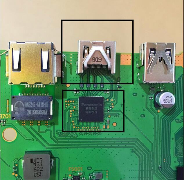 zamena hdmi konektora playstation 4